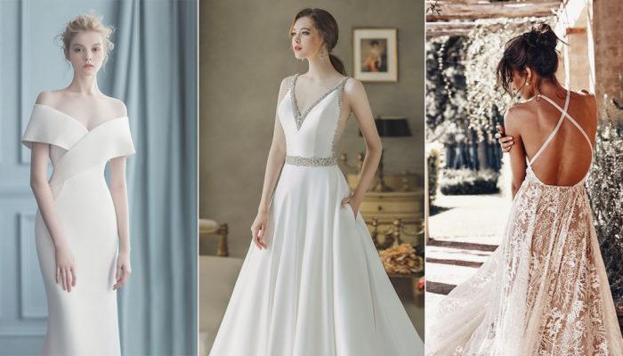 性感中不失優雅才是真時尚! 30件代表新女性魅力的絕美婚紗!