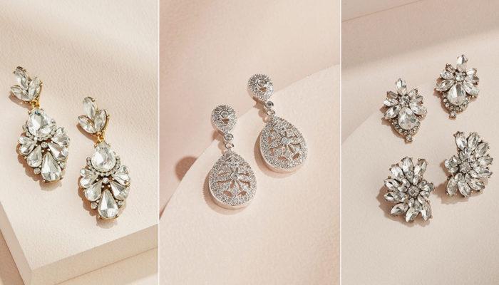 平價好質感結婚首飾! 30款小資新娘也可以擁有的時尚新娘耳環!