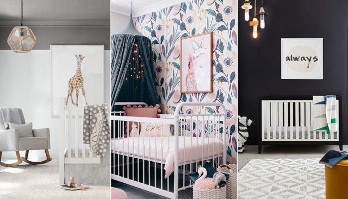 2019年嬰兒房佈置指南 – 6個寶寶房間設計流行趨勢!