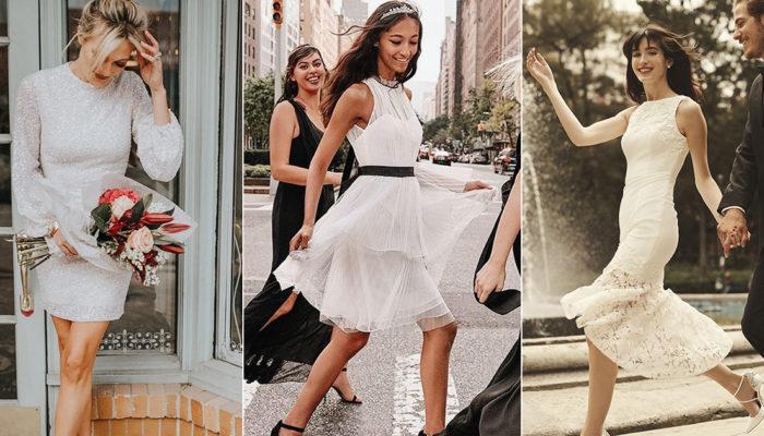 新娘必備的Little White Dress白色小禮服,婚前婚後相關活動的不敗穿搭!