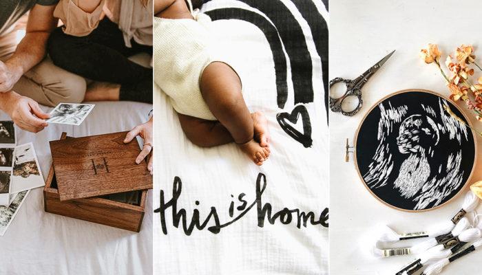 有意義的新生兒彌月禮物 – 22個讓新手媽媽感動的走心創意禮