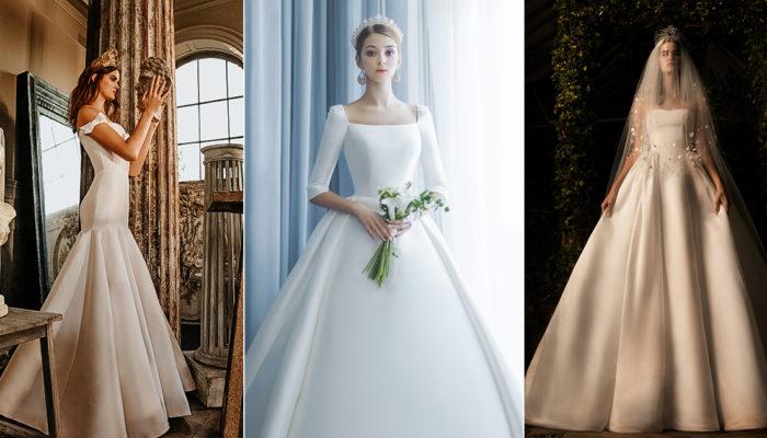 15件適合時尚新女性的女王系婚紗,震撼全場的優雅氣勢