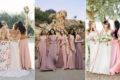 五大伴娘禮服春夏色彩配搭,創意配色打造仙女系姐妹團