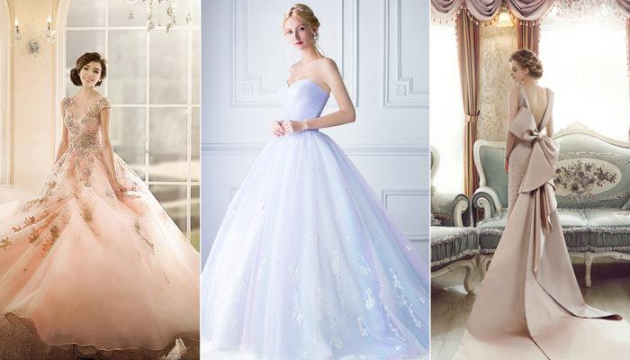 30件媲美紅毯的新娘婚宴晚禮服 – 儀式後更要震撼全場