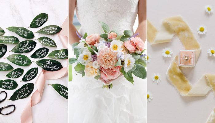 春季婚禮小心機! 33個應景創意細節打造高質感婚禮
