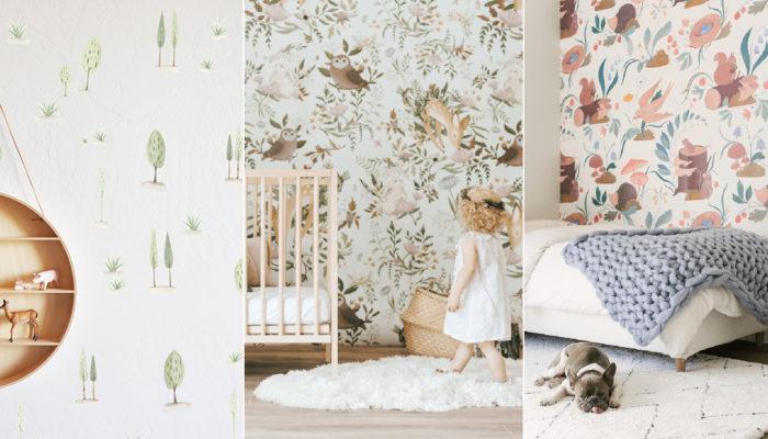 2019嬰兒房佈置潮流 – 童話森林主題嬰兒房為寶寶啟發自然系想像力!