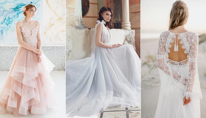 海灘婚禮穿什麼? 28件完美駕馭海邊婚禮的婚紗禮服