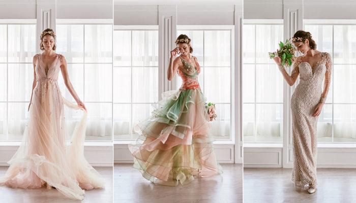 震撼婚禮界的奇妙婚紗設計! Emcee Bridal by Meichi 一件禮服打造多種夢幻造型