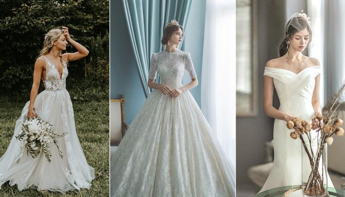 婚紗願望清單大公開! 五種真實新娘最想要的禮服風格