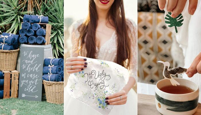 25個適合戶外婚禮的實用婚禮小物 – 佈置與紀念價值兼具的創意感恩禮