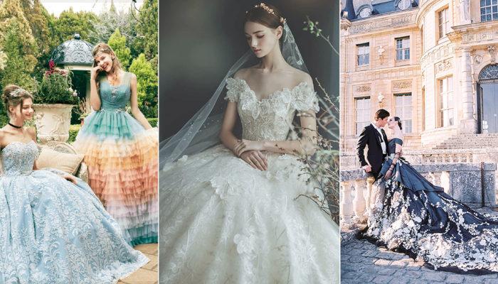 40件實現公主夢的現代童話婚紗禮服