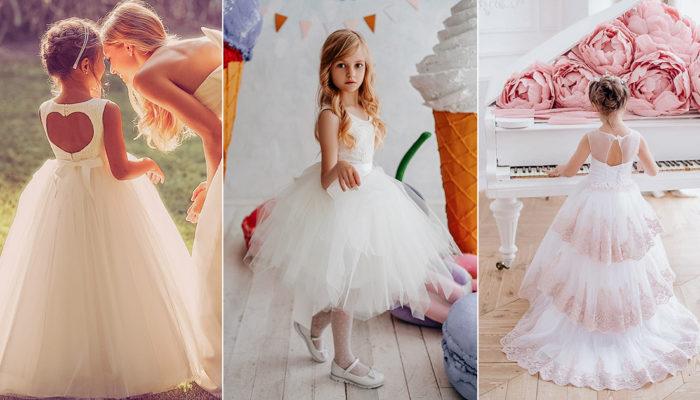 花童禮服哪裡買? 16件可愛別緻女花童公主白紗