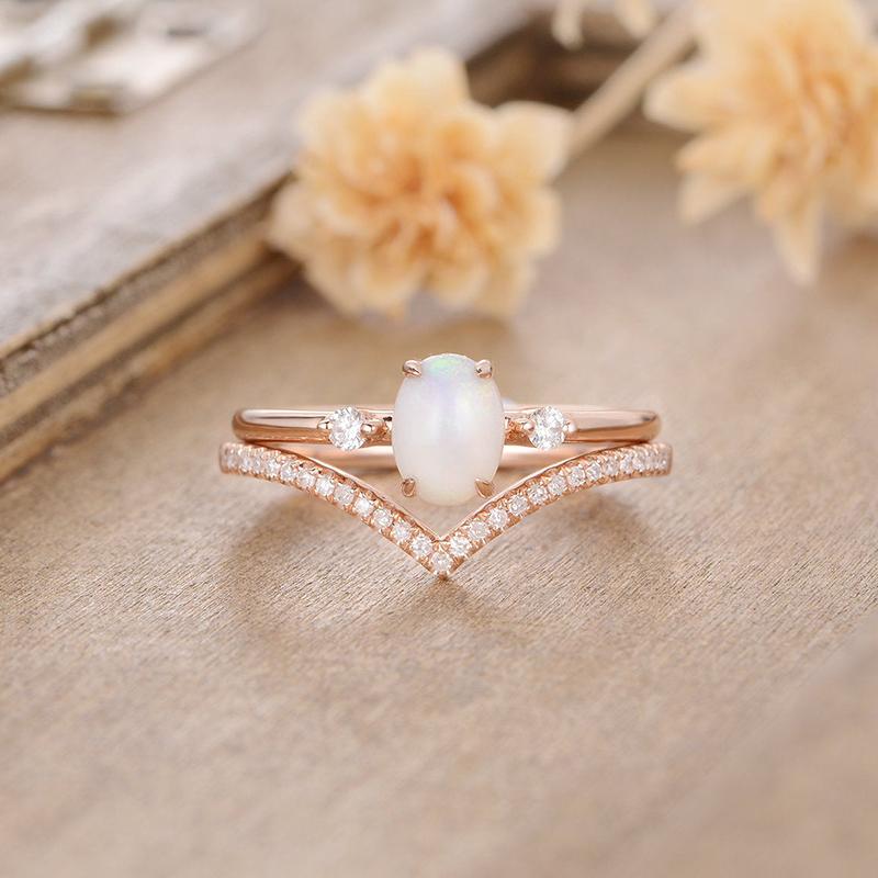 Opal Bridal Set