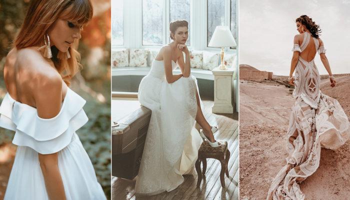 自由的浪漫與溫柔的奔放! 38件時尚波希米亞風婚紗禮服