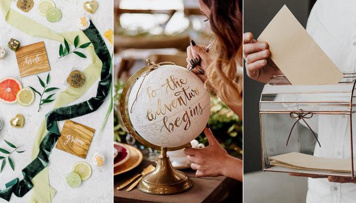 值得珍藏的婚禮佈置 – 15件婚禮過後你還會想保存的創意紀念品