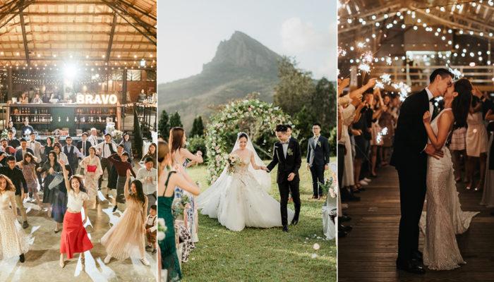 國際認證TOP 5台灣美式婚禮場地! 擁有一場正統的美式婚禮不是夢