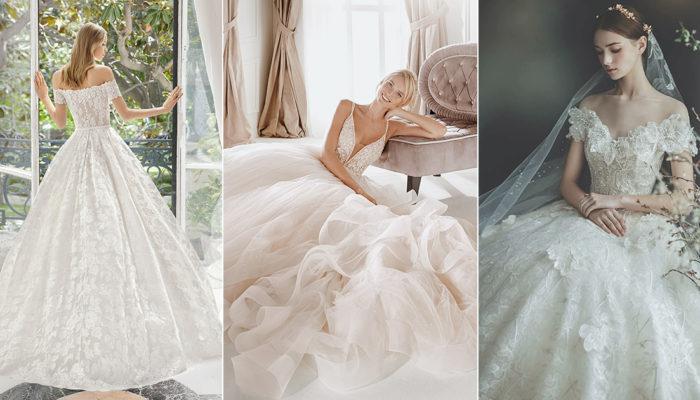 摩登經典共創浪漫! 40件結合時尚與典雅的絕美婚紗