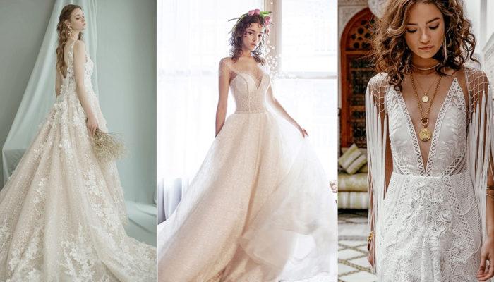 低调华丽的精致艺术- 18件优雅时尚女神系婚纱