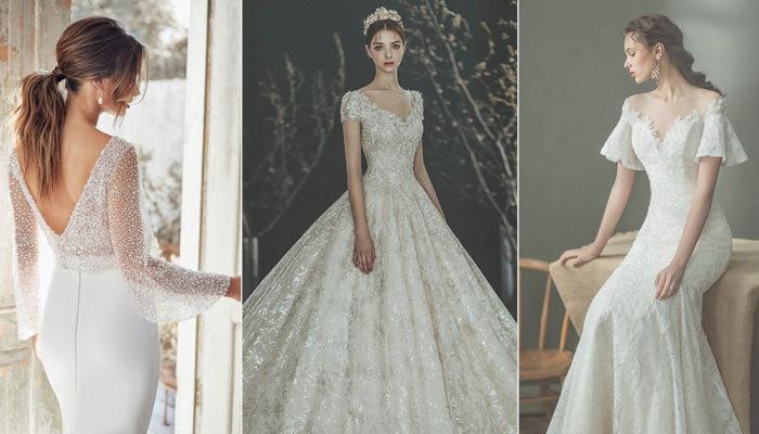保守時尚美學再創經典 – 20件不裸露更美麗的現代婚紗