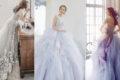 18件煙燻冷色系禮服 – 霧感濾鏡打造史上最夢幻婚紗顏色潮流