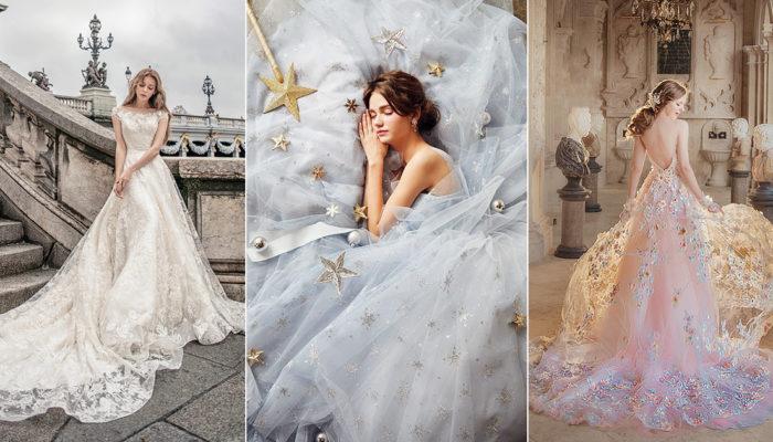 半糖公主的時尚童話! 15件甜而不膩魔法婚紗禮服