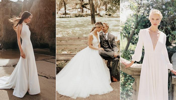 買得起的設計師品牌婚紗! 28件優雅女王的新銳極簡禮服