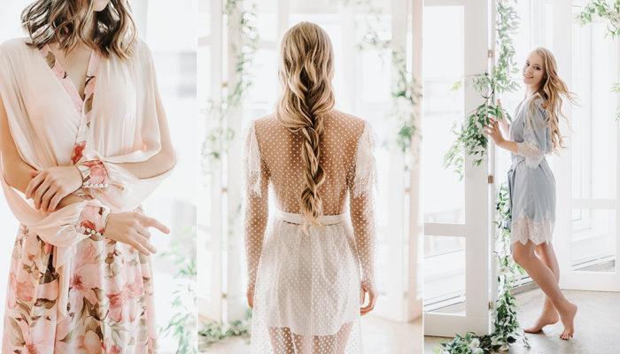 時尚女王的浪漫新娘袍,高質感手工訂製浴袍打造絕美風範!