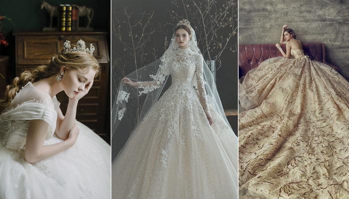 經典奢華再創新風貌! 15件結合典雅剪裁與時尚細節的絕美婚紗