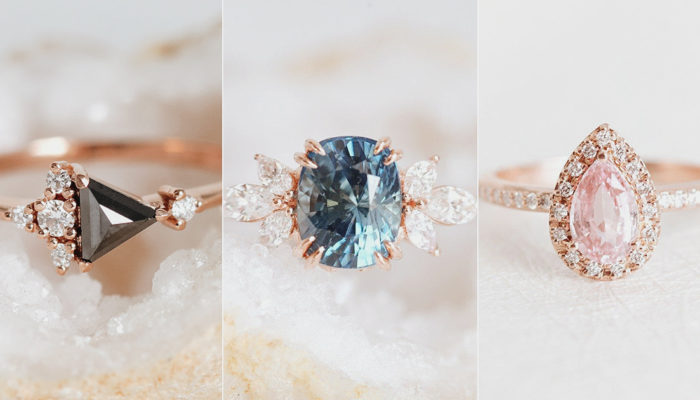 皇室寶石婚戒潮流來襲! 28款純手工絢麗復古訂婚戒指