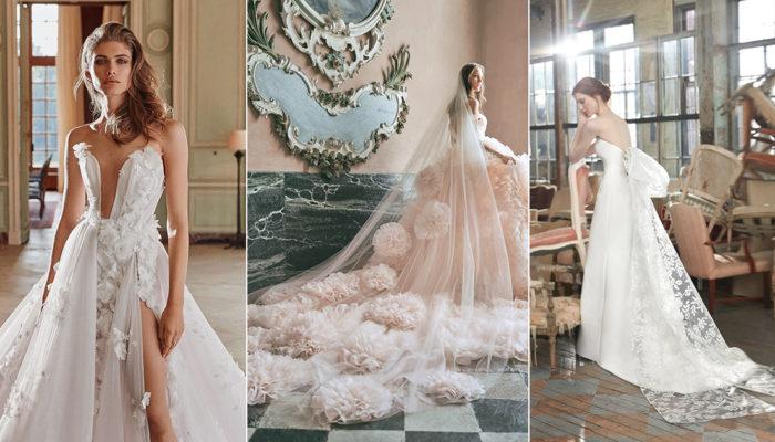 2020秋季婚紗時裝週夢幻升級! 女神嫁衣系列浪漫來襲
