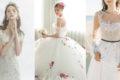 17 件仙境感手工花藝婚紗,仙女潮流襲捲婚禮時尚圈