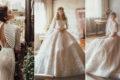 15件時尚冬季雪白有袖婚紗,適合冬天婚禮的經典浪漫禮服