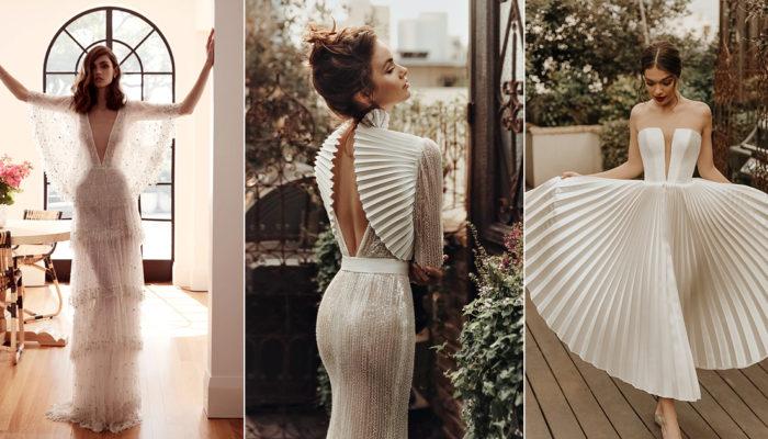 個性與情懷的時尚火花! 25件浪漫前衛婚紗禮服