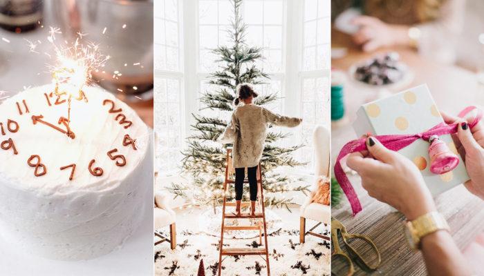 如何在家裡辦一場超有氣氛的聖誕跨年派對? 2019時尚轟趴簡易指南!