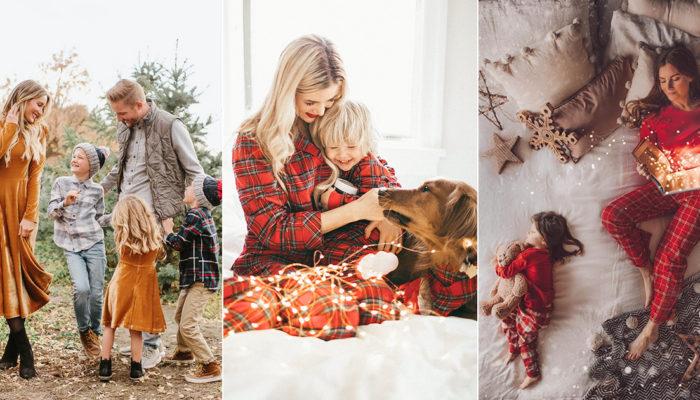 風靡IG的暖心聖誕全家福! 20張可媲美童話的創意家庭寫真
