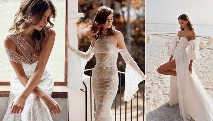 30件結合優雅與狂野的知性婚紗