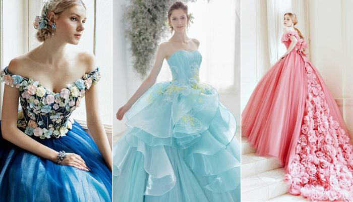 24件可穿進童話舞會的公主風婚宴晚禮服