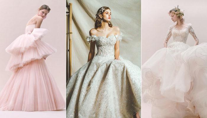 14件完美詮釋經典女人味的魅力婚紗,愛上雋永氣質中的一抹甜