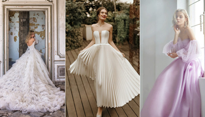 37件適合靈巧女孩的精緻婚紗,打造耐人尋味的脫俗靈氣