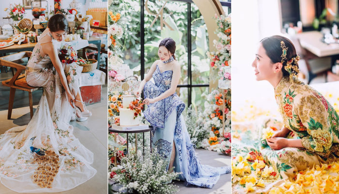 農曆新年新創意! 新時代中式婚禮婚紗,回味與品味的雙重饗宴