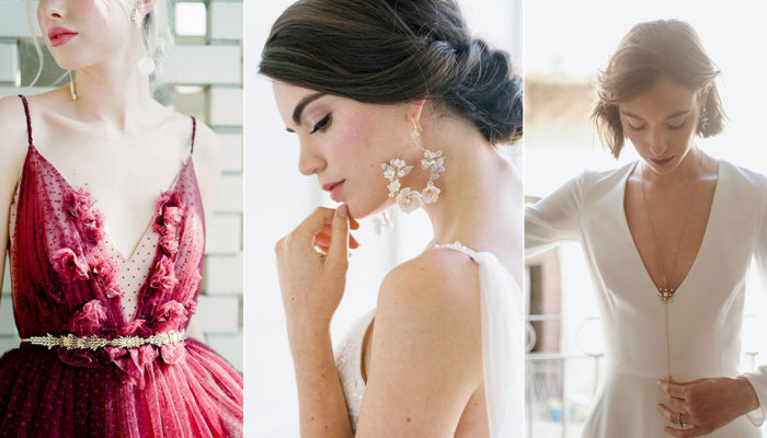 20款前衛優雅宣言飾品,適合時尚新娘的結婚首飾