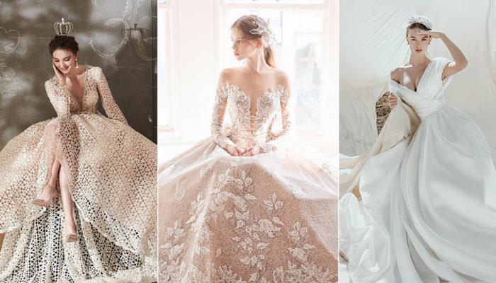 15件創造經典的時尚女王婚紗,摩登風範打造雋永風采
