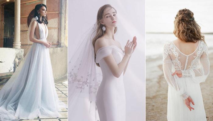 拉近心距離的春季婚紗,25款適合氧氣女孩的浪漫禮服