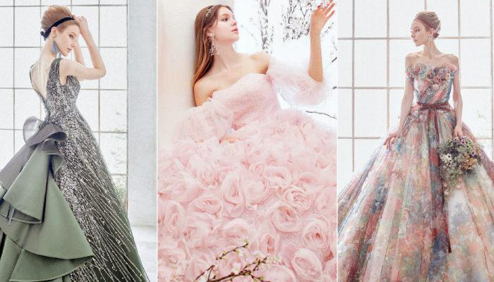 23件最懂公主心的日系童話婚紗 – 來自日本的彩色夢幻手藝