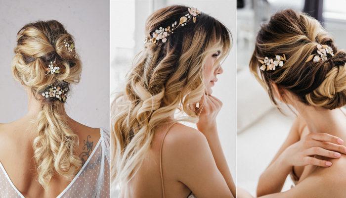 一件髮飾戴出百變造型! 10款高人氣歐洲手製新娘髮飾,打造女神系婚禮髮型