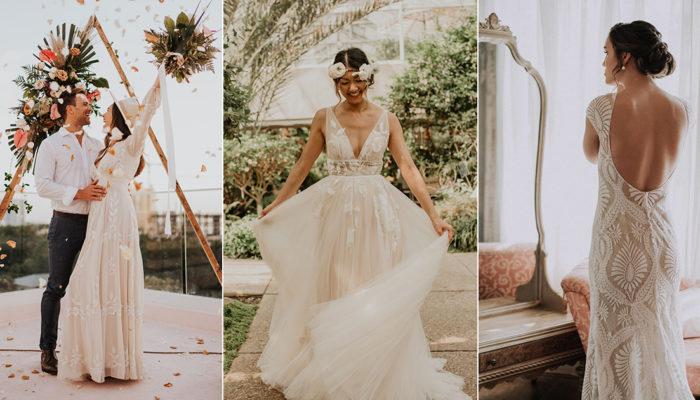 18件適合私奔和小型婚禮的時尚禮服,好評不斷的高質感網購輕婚紗