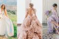15件帶來平靜安定感的彩色婚紗,安撫心靈的夢幻色彩