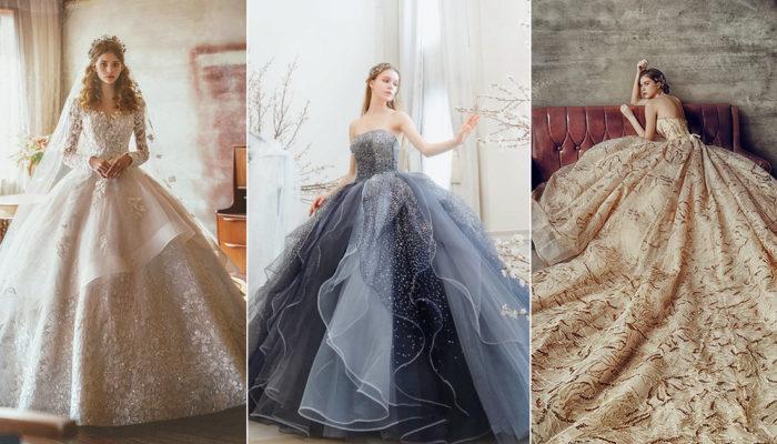 18件帶著溫柔光芒的婚紗禮服! 風靡全場的微奢華女王光環