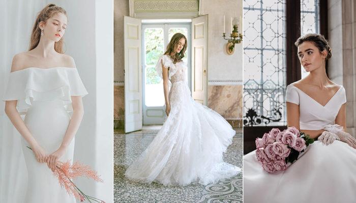15件小型和大型婚禮都適用的絕美時尚婚紗,療癒充滿未知數的待嫁心