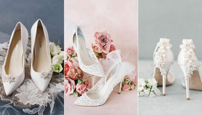 15雙四季皆適宜的夢幻婚鞋,伴妳溫柔走過春夏秋冬